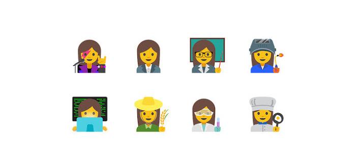 Tal van nieuwe vrouwelijke emoji goedgekeurd door Unicode