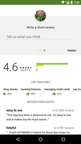 Beoordelingen Google Play Store