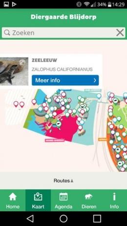 Blijdorp plattegrond app