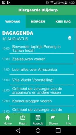 Blijdorp agenda app