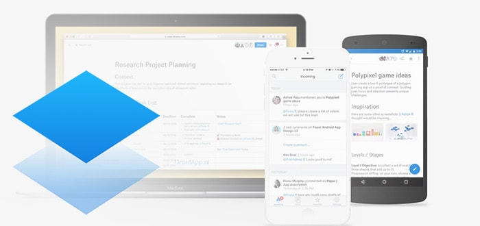 Dropbox Paper: Google Docs-concurrent uitgebracht in Play Store