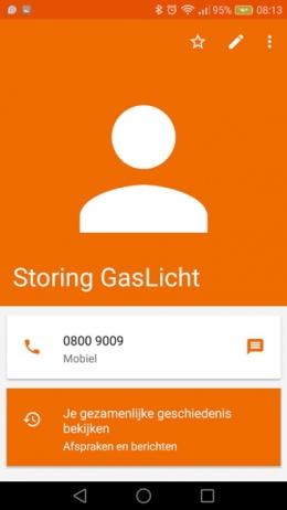 Google Contacten 1.5