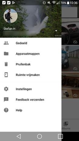 Google Foto's 1.25