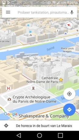 Google Maps 3D kaarten