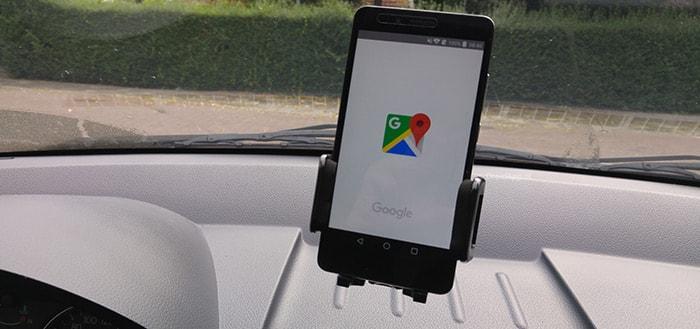 Nieuwe optie in Google Maps brengt 'zwevende locatiebalk'