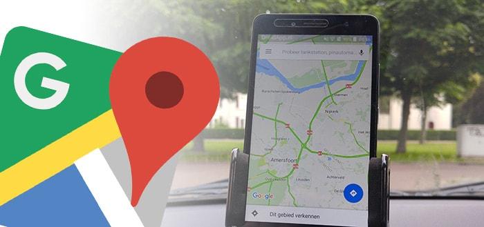Google Maps test verbeterde navigatie-aanwijzingen met herkenningspunten