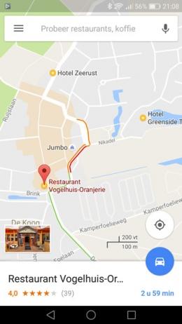 Google Maps lijsten