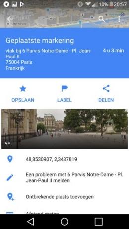 Google Maps Ontbrekende plaats toevoegen