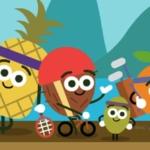 Google Now doodle voegt fruitige game toe voor Olympische Spelen