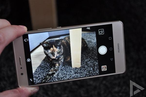 Huawei P9 Lite camera