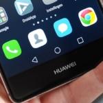 Huawei P9 icoontjes