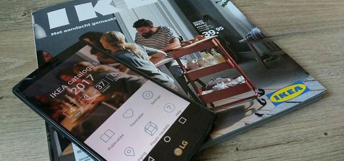 IKEA Catalogus app bijgewerkt voor 2017