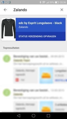 Inbox by Gmail zoekfunctie