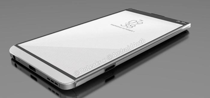 LG V20: renders tonen modulair ontwerp van strak toestel
