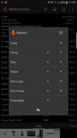 Meterstanden app