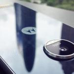 Moto Z Play met glazen behuizing laat zich zien