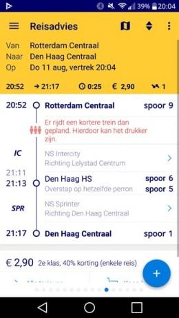 NS Reisplanner Xtra 4.5