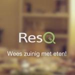 ResQ: overgebleven maaltijden bestellen bij restaurants