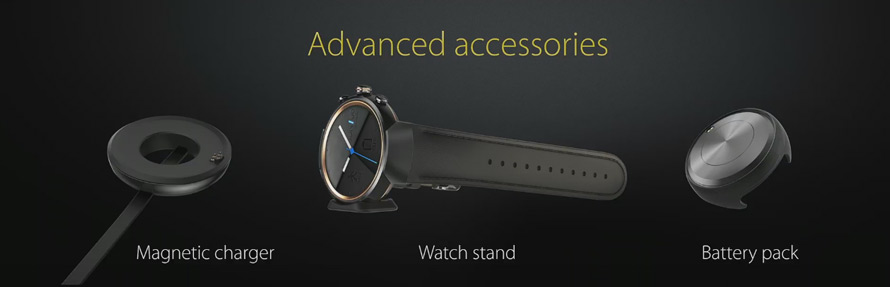 Asus ZenWatch 3 accessoires