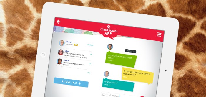 CliniClowns app tovert overal een lach op het gezicht