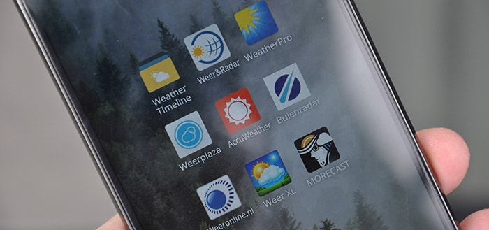 Grote weer-app test 2016: wat is de beste weer-app?