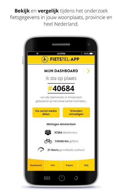 Fietstel app