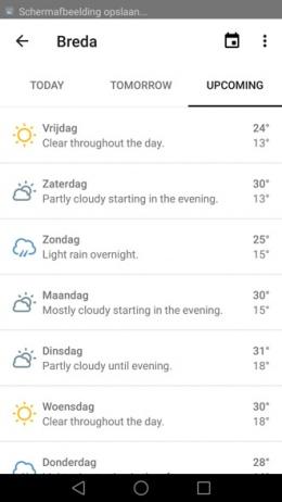 Forecast app