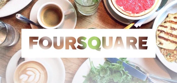Foursquare 10: enorme update met nieuw design voor reisgids-app