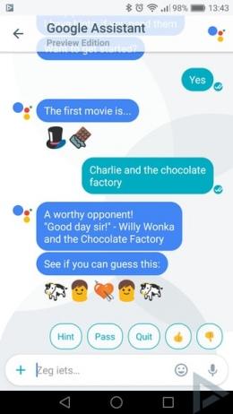 Google Allo emoji game