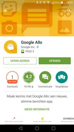 Google Allo succes