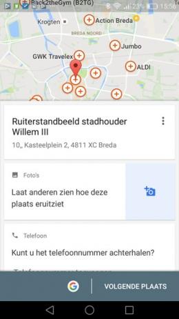 Google maps lokale gids