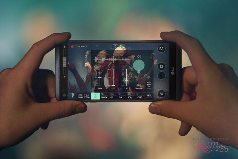 LG V20 Hi-Fi-Recording