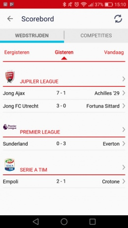 NUsport app