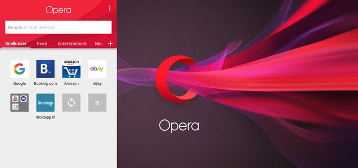 Opera geeft Android-browser grote update met frisse, nieuwe vormgeving