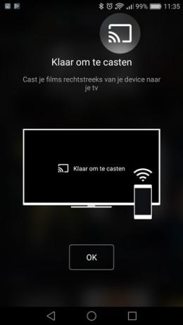Pathé Thuis app Chromecast