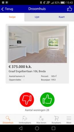 Rabobank HomeCatcher app