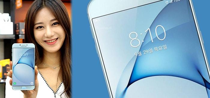 Samsung Galaxy A8 (2016) gepresenteerd: een strak, metalen toestel