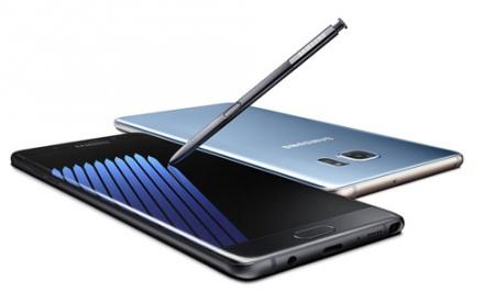 Samsung Galaxy Note7 problemen