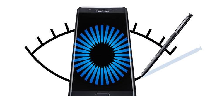 Samsung Galaxy Note 7 komt terug; met kleinere accu