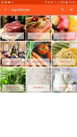 Top Recept app
