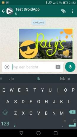 WhatsApp foto-tools