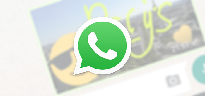 WhatsApp experimenteert met Stickers in chats (screenshots)