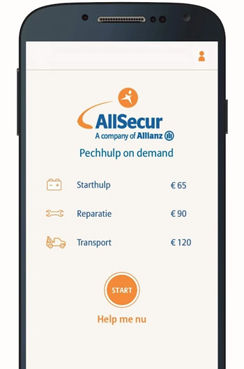 Allsecur pechhulp on demand