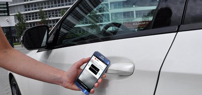 Vodafone maakt van je NFC-smartphone een autosleutel
