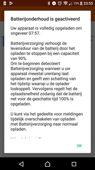 batterijverzorging