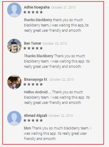 BlackBerry reviews