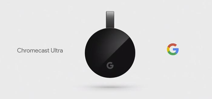 Google komt met 2e generatie Chromecast Ultra met Android TV en afstandsbediening
