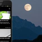 DroidApp App 2.0.1 update brengt energiezuinig thema
