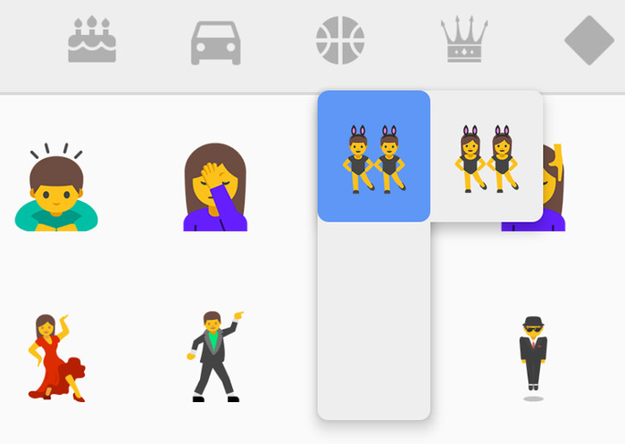 Emoji Android 7.1 Nougat
