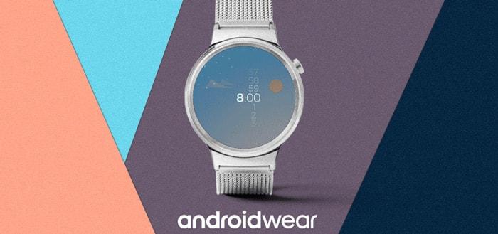 Android Wear 2.8 uitgebracht: dit zijn de nieuwe functies